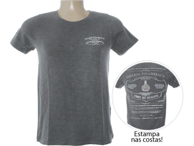 Camiseta Masculina Dzarm 6bwg Nlp10 Grafite