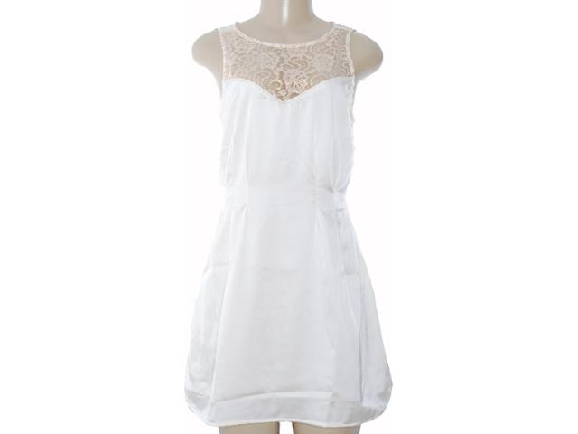 Vestido Feminino Moikana 8080 Off White