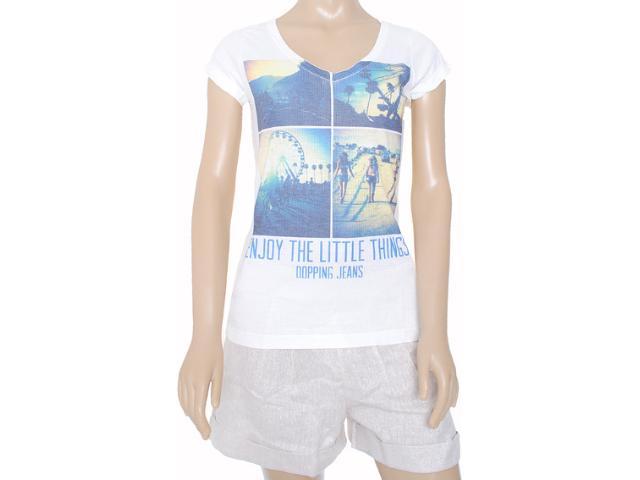 Blusa Feminina Dopping 015252541 Estampado Gelo