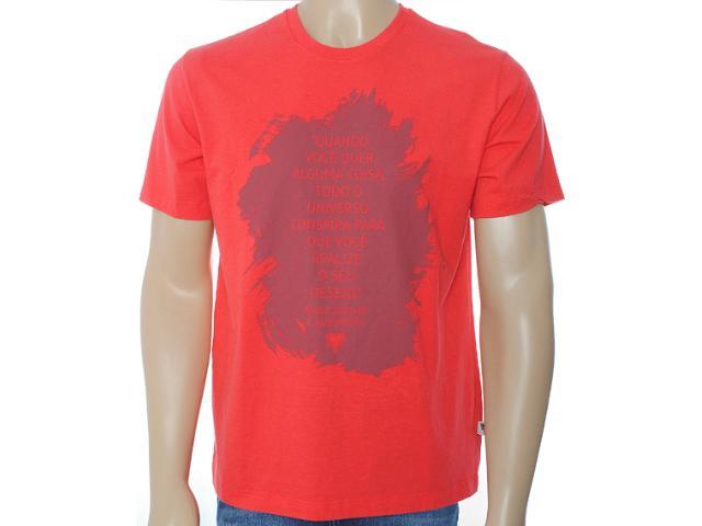 Camiseta Masculina Cavalera Clothing 01.01.6968 Vermelho