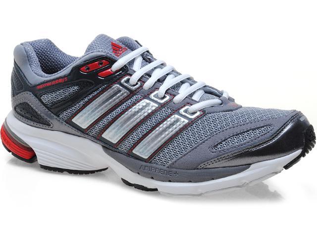 Tênis Masculino Adidas Q22199 Resp Stab 5m Cinza/chumbo/vermelho