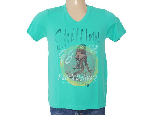 Camiseta Masculina Dzarm 6byp Wb710 Verde