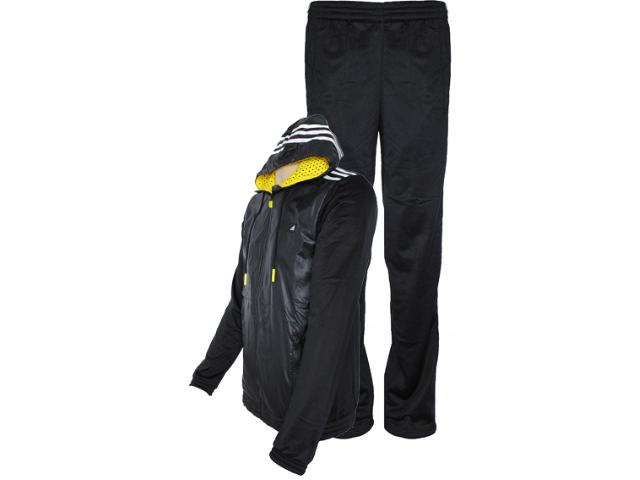 Abrigo Masculino Adidas Z32679 ts Young Preto/branco
