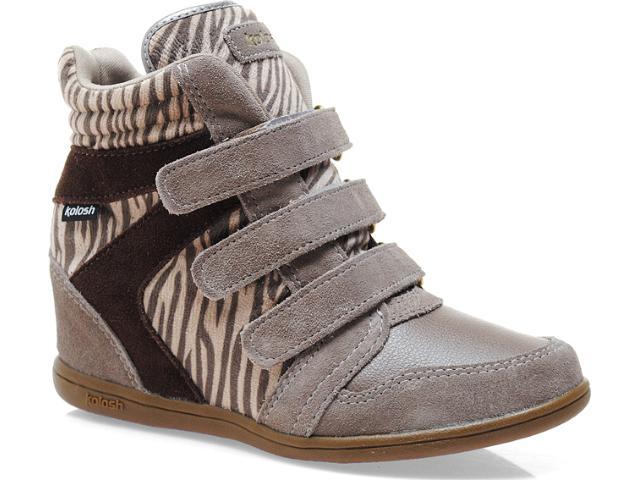 Sneaker Feminino Kolosh C0096 Zebra Bege