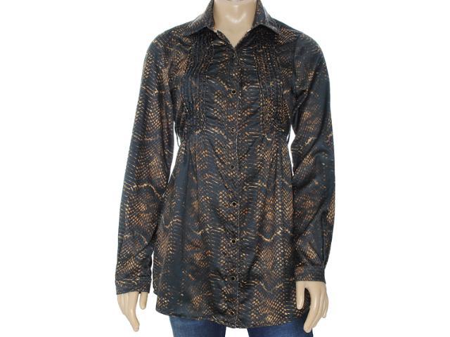 Camisa Feminina Moikana 6135 Preto