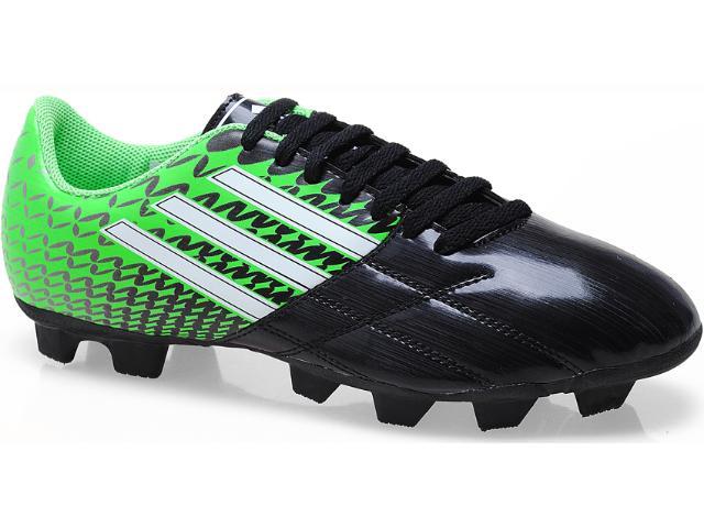 Chuteira Masculina Adidas G65063 Neoride Trx Preto/verde