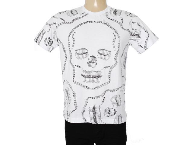 Camiseta Masculina Cavalera Clothing 01.01.7157 Branco
