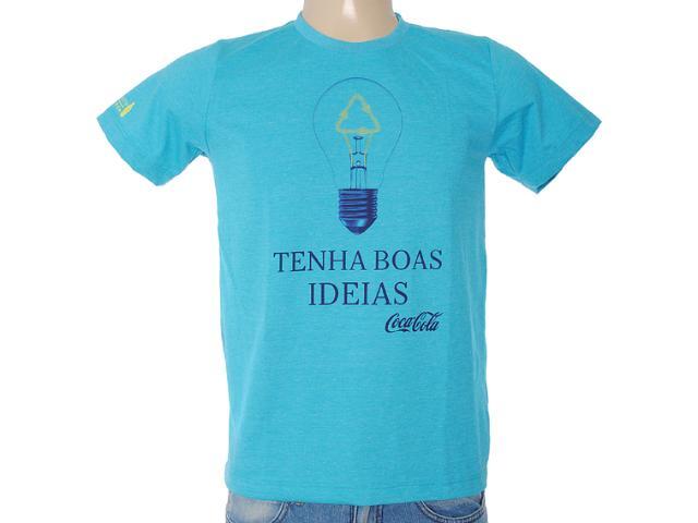 Camiseta Masculina Coca-cola Clothing 353203337 Azul
