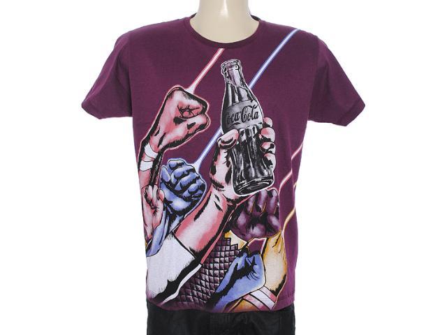 Camiseta Masculina Coca-cola Clothing 353203307 Beringela