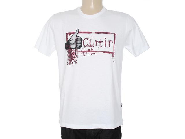 Camiseta Masculina Cavalera Clothing 01.01.7071 Branco