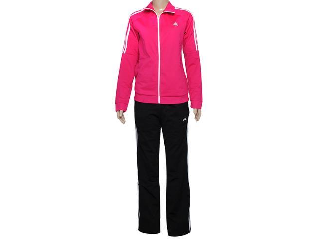 Abrigo Feminino Adidas D89830 Frieda Wom Pink/preto