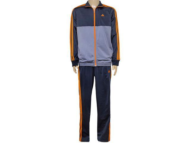 Abrigo Masculino Adidas Ai6589 Mens kn 1 Grafite/laranja