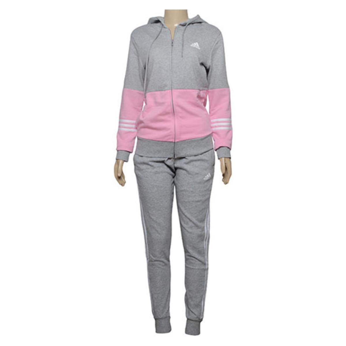 Abrigo Feminino Adidas Dx0765 Wts co Energize Cinza/rosa
