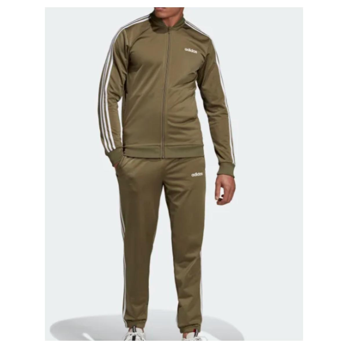 Abrigo Masculino Adidas Dv2469 Mts B2bas 3s Verde/branco