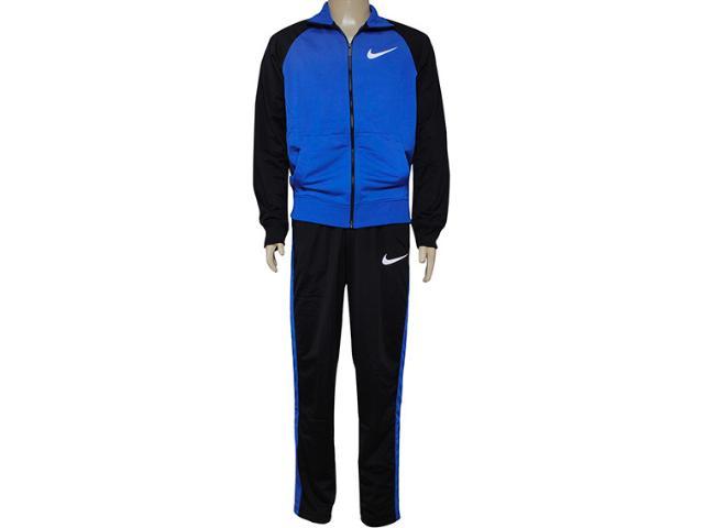 Abrigo Masculino Nike 639136-480 Polywarp Raglan W-up Were Azul/preto