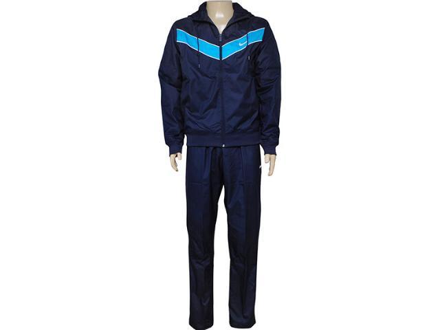 Abrigo Masculino Nike 637751-451 Striker Pass Wvn Trk st Marinho