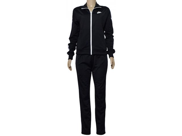 Abrigo Feminino Nike 830345-010 w Nsw Sportswear Suit  Preto/branco