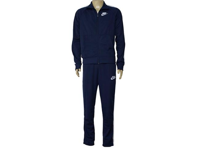Abrigo Masculino Nike 840643-451 Sportswear Track  Marinho/branco