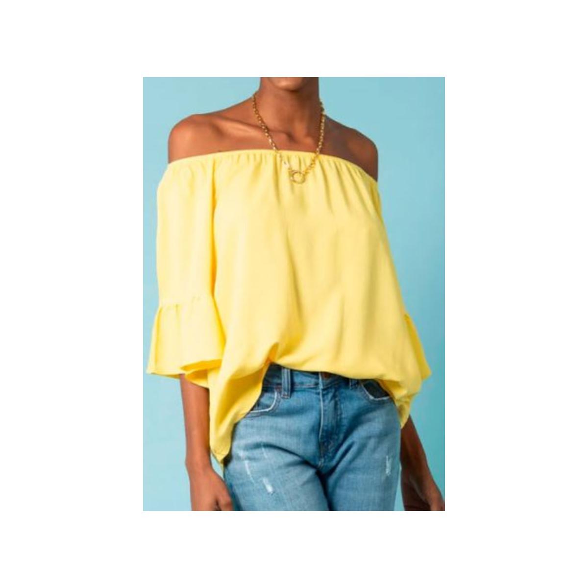 Bata Feminina Mercatto 2836075 001 Amarelo