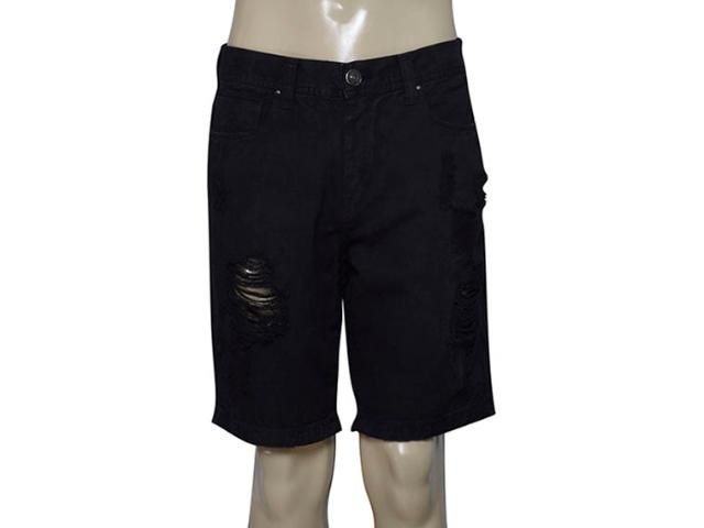Bermuda Masculina Cavalera Clothing 08.02.1332 Preto
