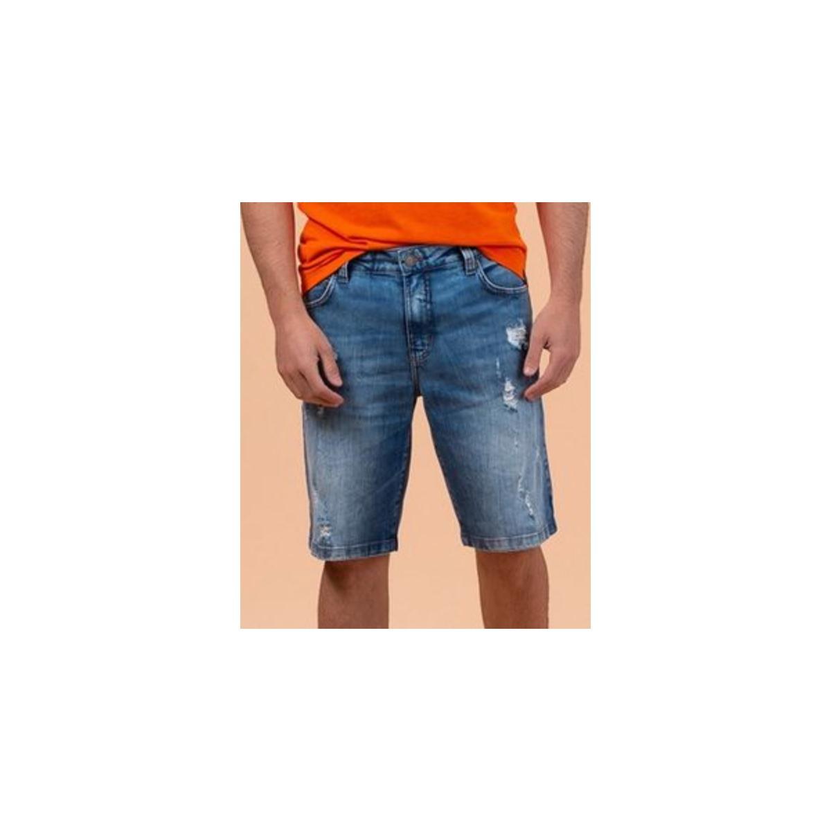 Bermuda Masculina Colcci 30102405 600 Jeans