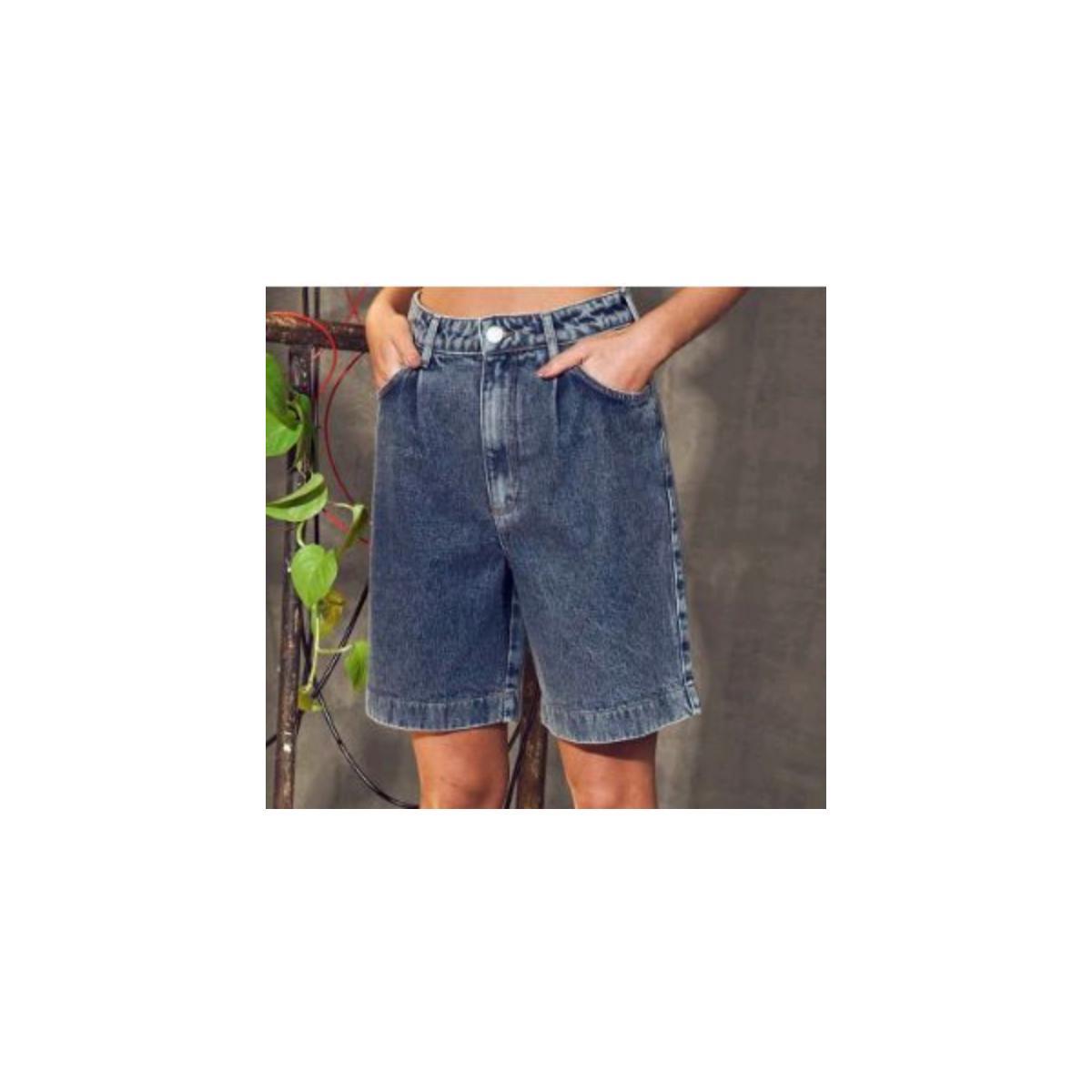 Bermuda Feminina Colcci 40102067 600 Jeans