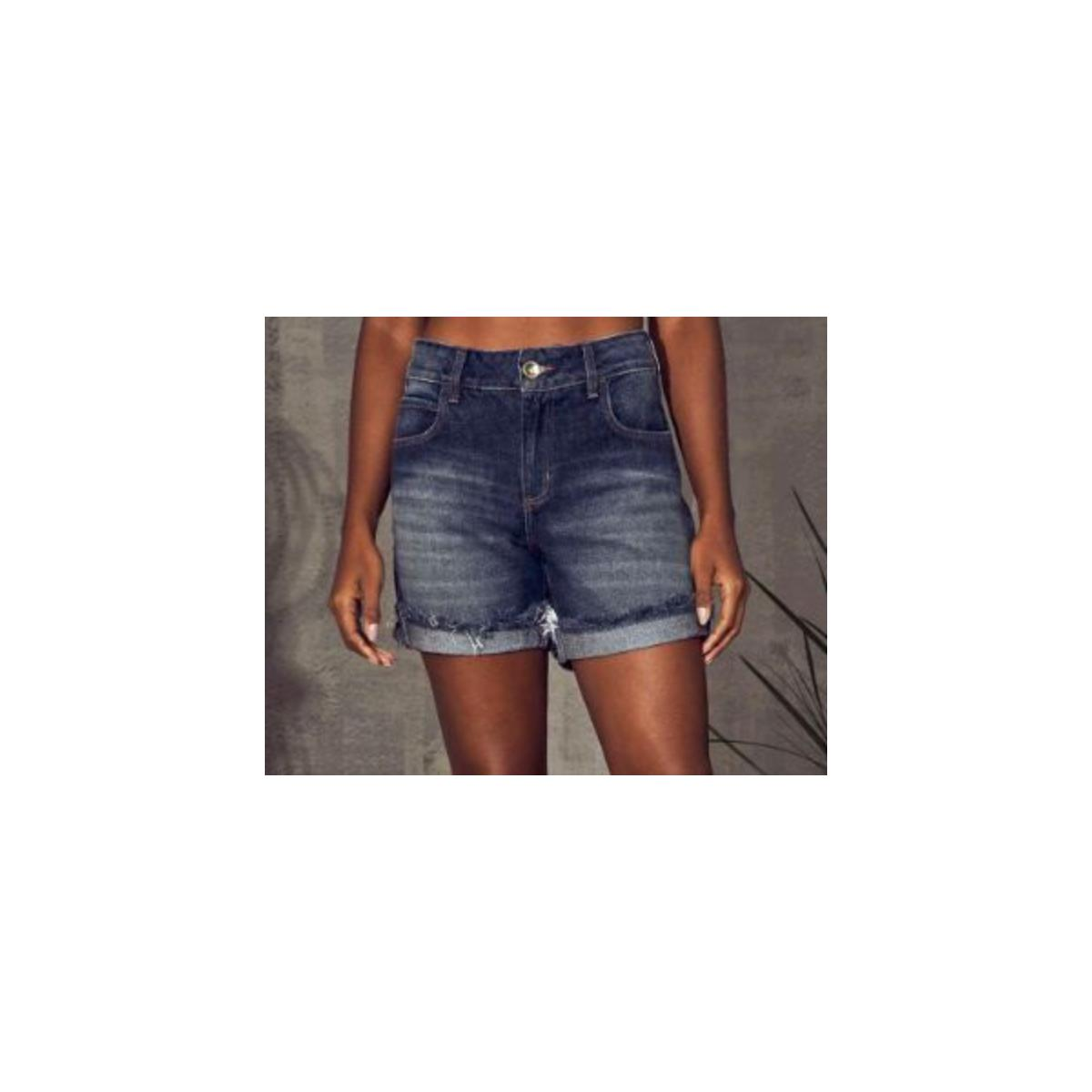Bermuda Feminina Colcci 40102069 600 Jeans