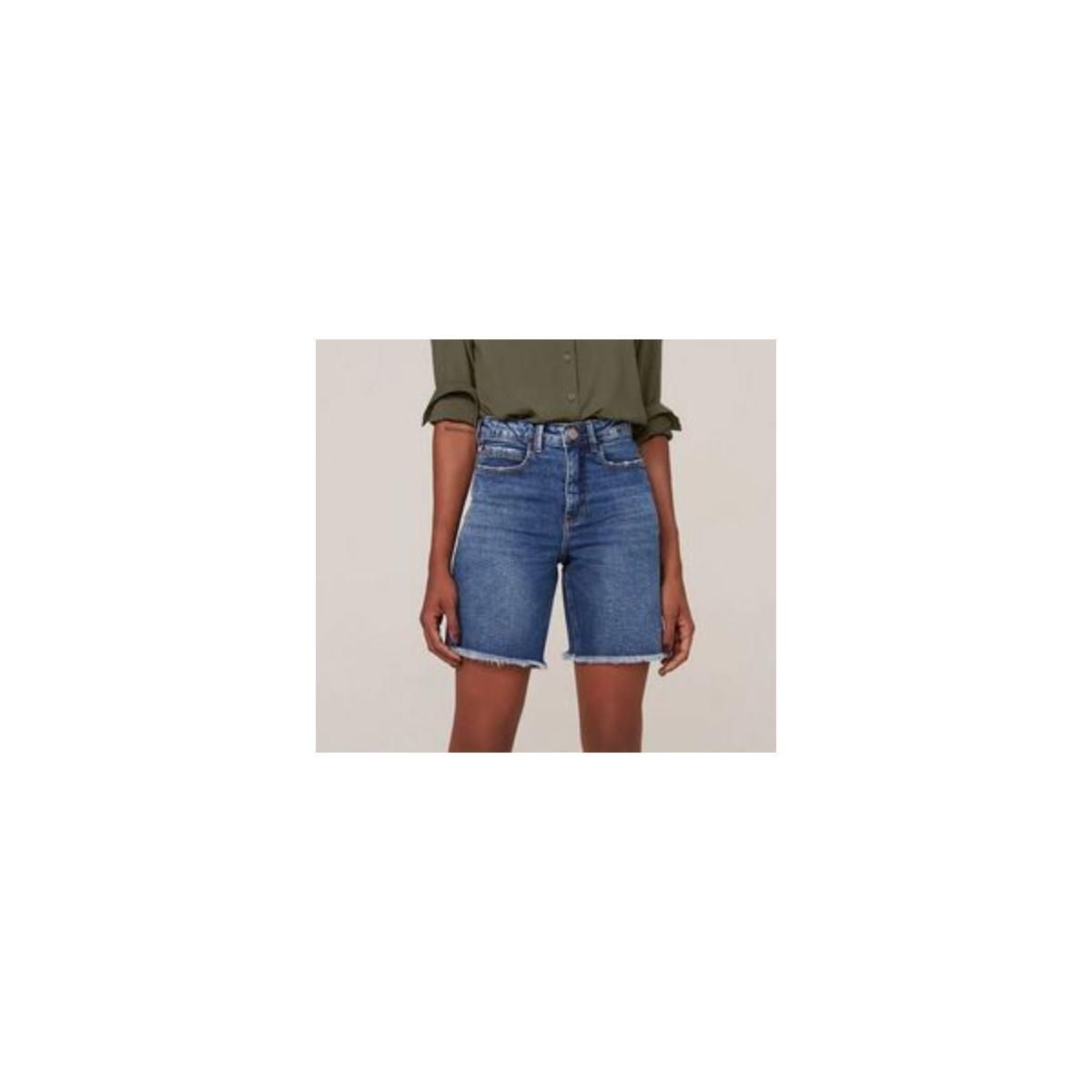 Bermuda Feminina Dzarm Zc4g 1asn Jeans