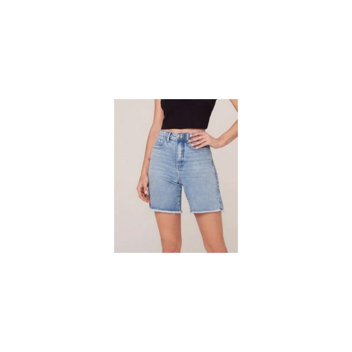 Bermuda Feminina Dzarm Zc4g 1bsn Jeans Claro