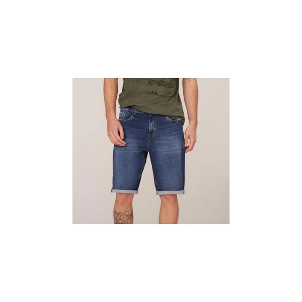 Bermuda Masculina Dzarm Zc4u  1asn Jeans