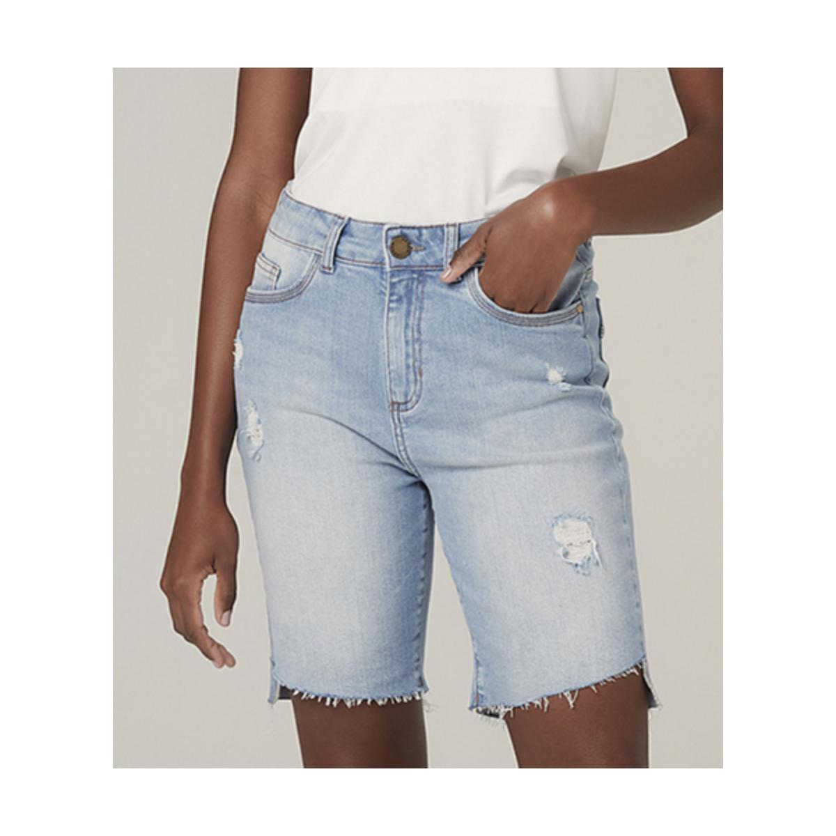 Bermuda Feminina Dzarm Zbl8 1bsn Jeans