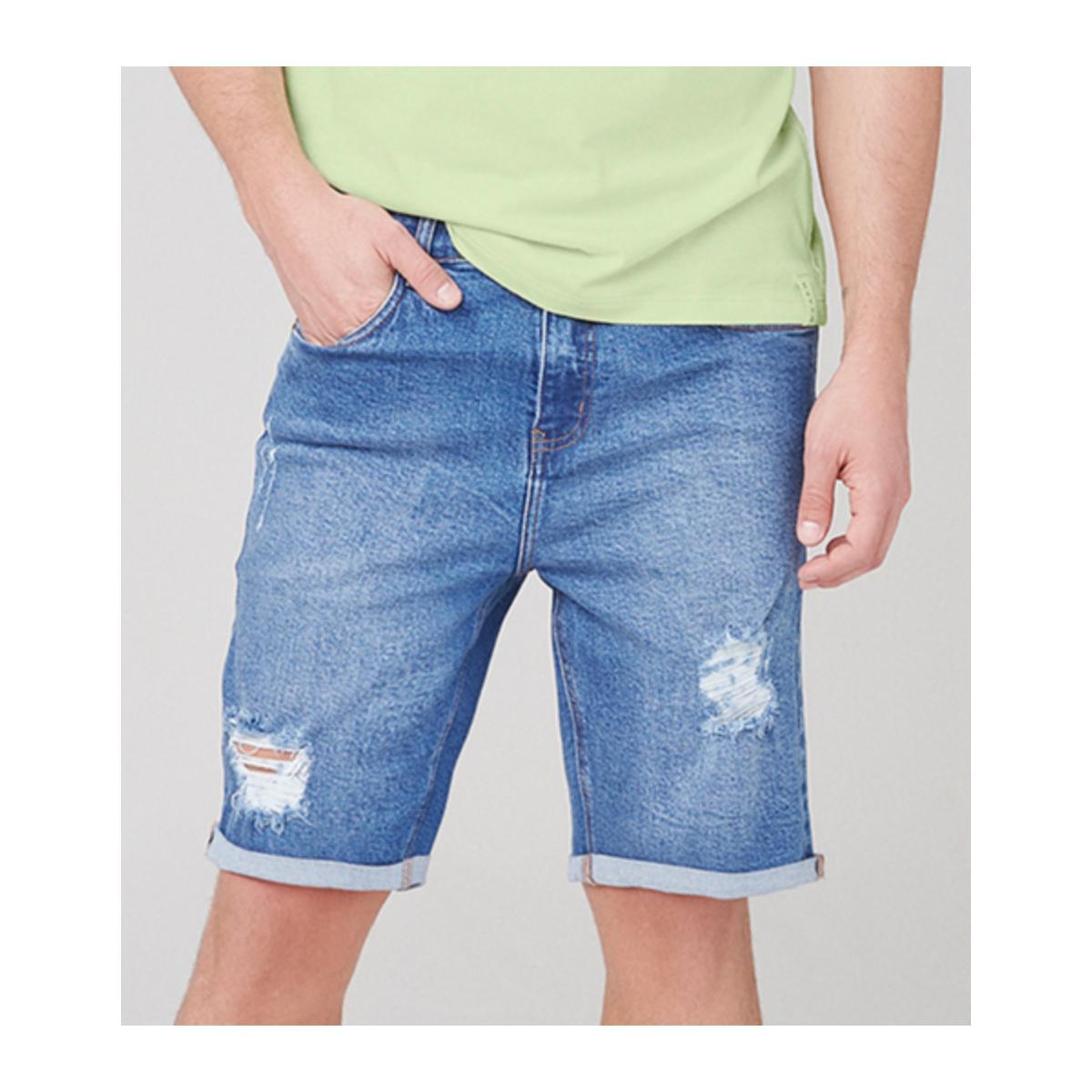 Bermuda Masculina Dzarm Zc4v 1asn Jeans