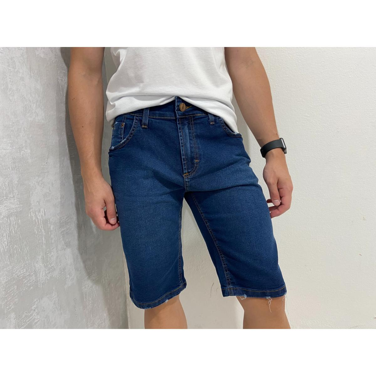 Bermuda Masculina Index 02.01.1000747 Jeans