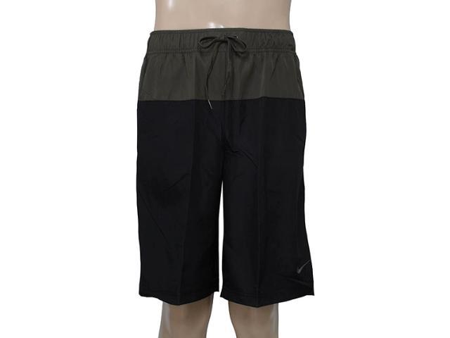 Bermuda Masculina Nike 639366-012 em Sweet Preto/musgo
