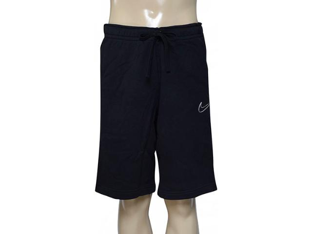 Bermuda Masculina Nike 804703-010 m Nsw  Flc gx  Preto