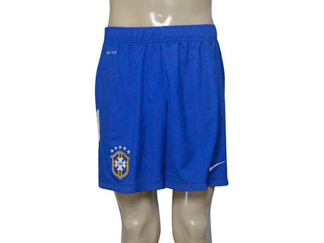 Bermuda Masculina Nike 575714-493 Cbf Academy Wvn Short Azul/branco