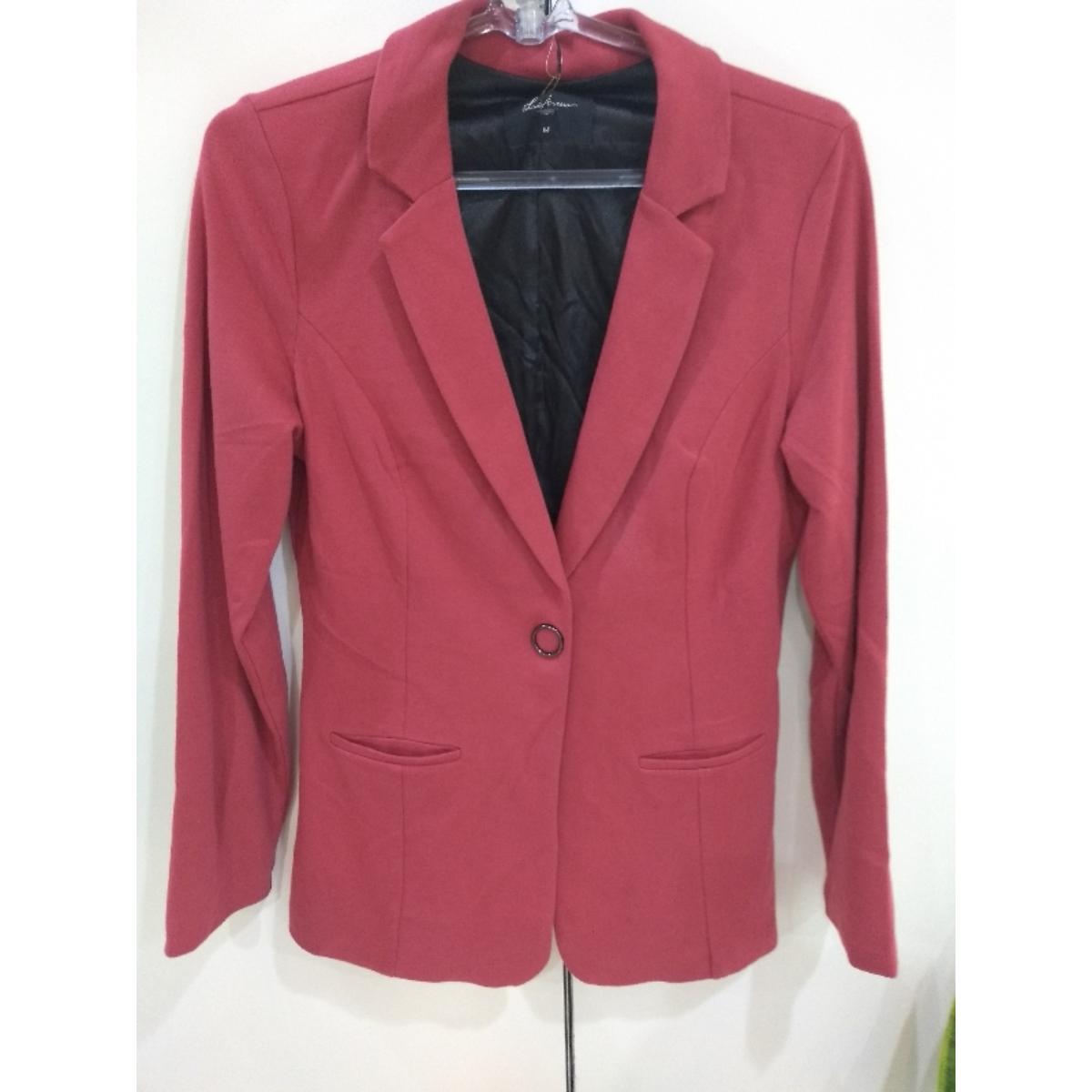 Blazer Feminino Lado Avesso 109617 Vermelho Rouge