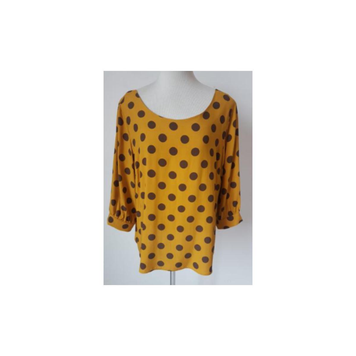 Blusa Feminina Alpelo 11100340 Amarelo Cheddar
