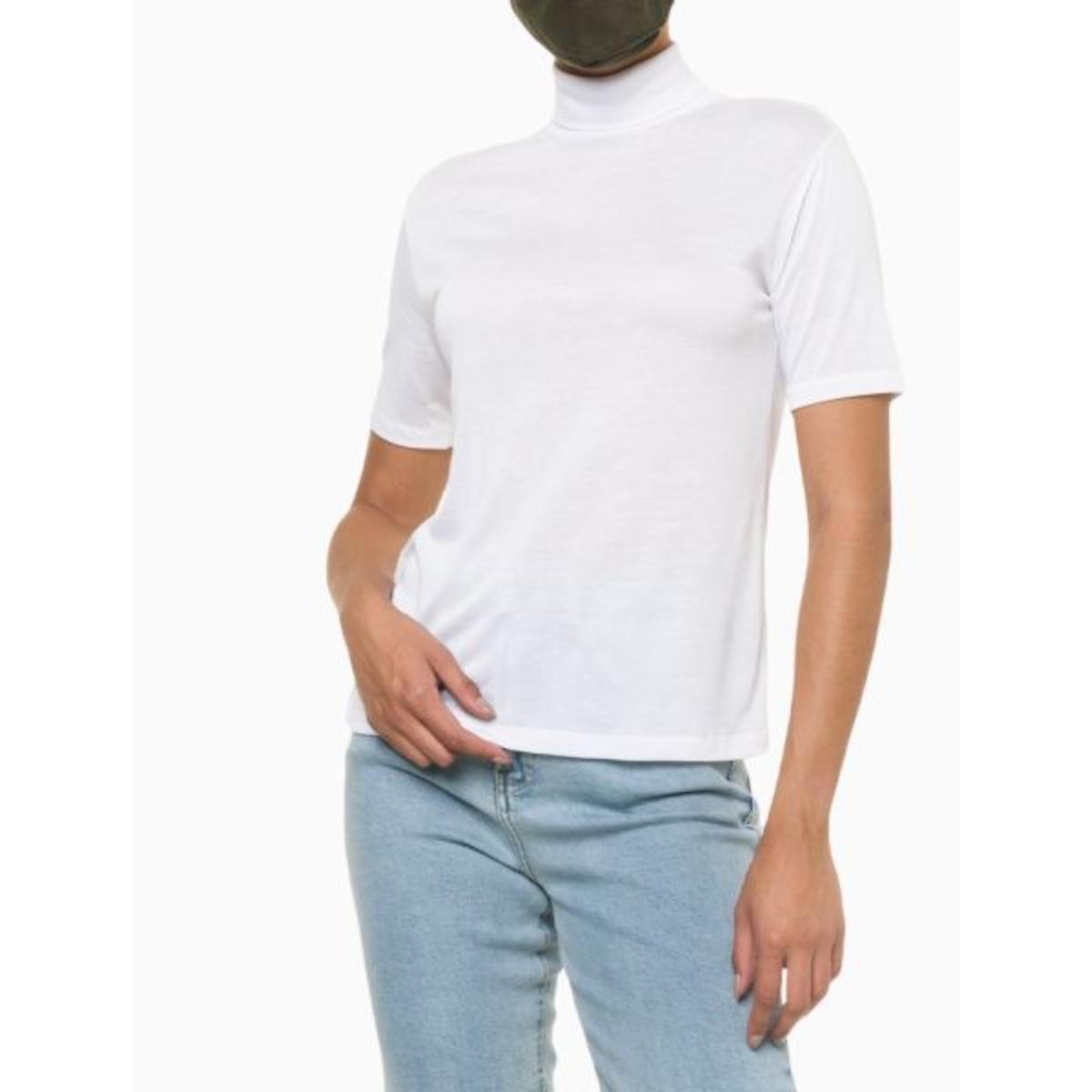 Blusa Feminina Calvin Klein Cf1oc01bc696 Branco