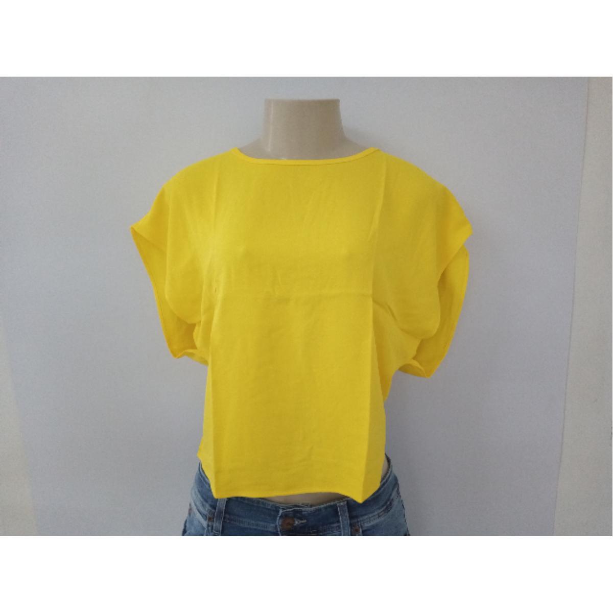 Blusa Feminina Colcci 360115303 53672 Amarelo