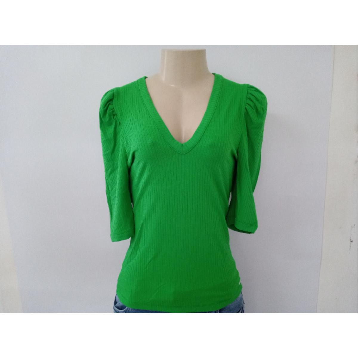 Blusa Feminina Colcci 360115223 53657 Verde