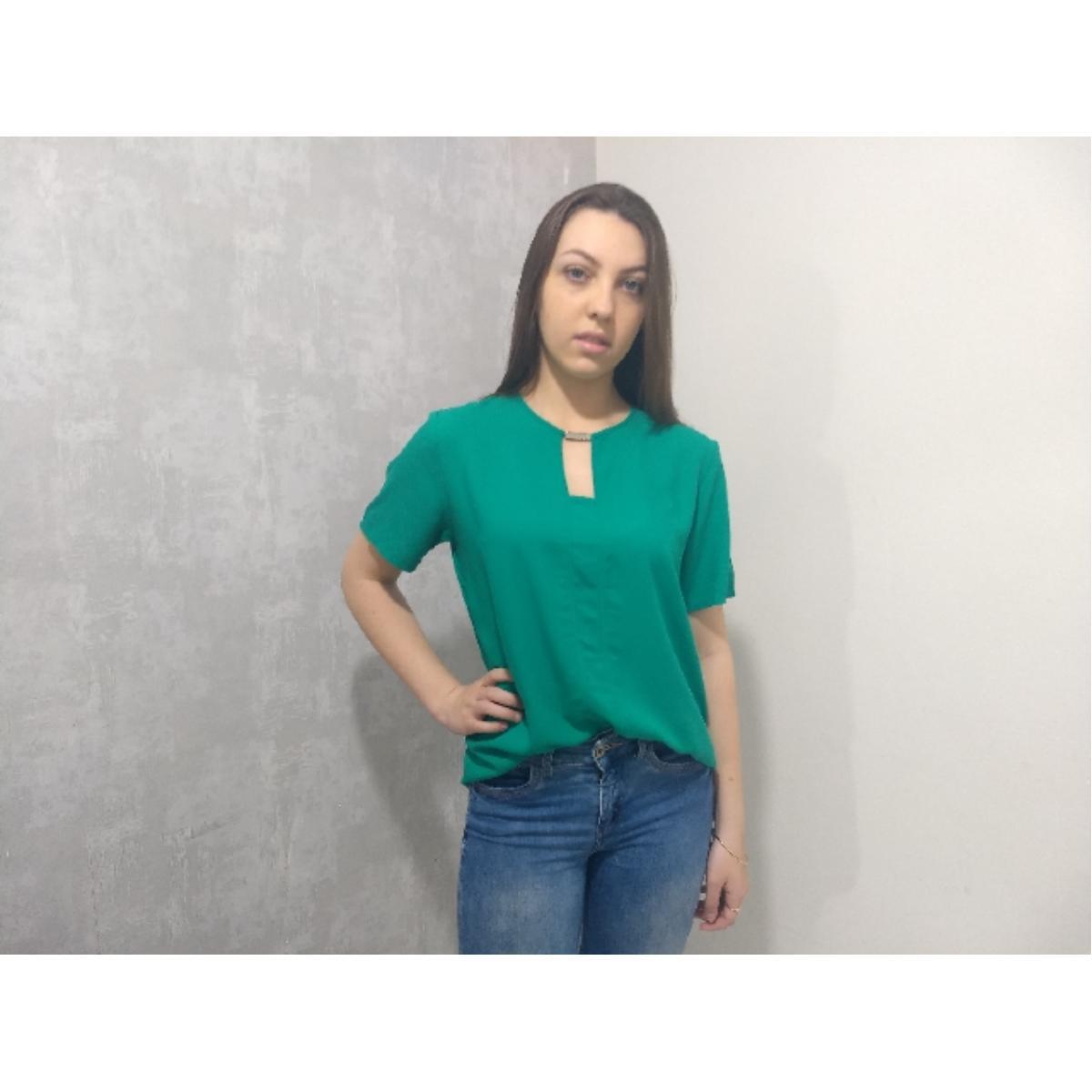 Blusa Feminina Colcci 360115304 39001 Verde