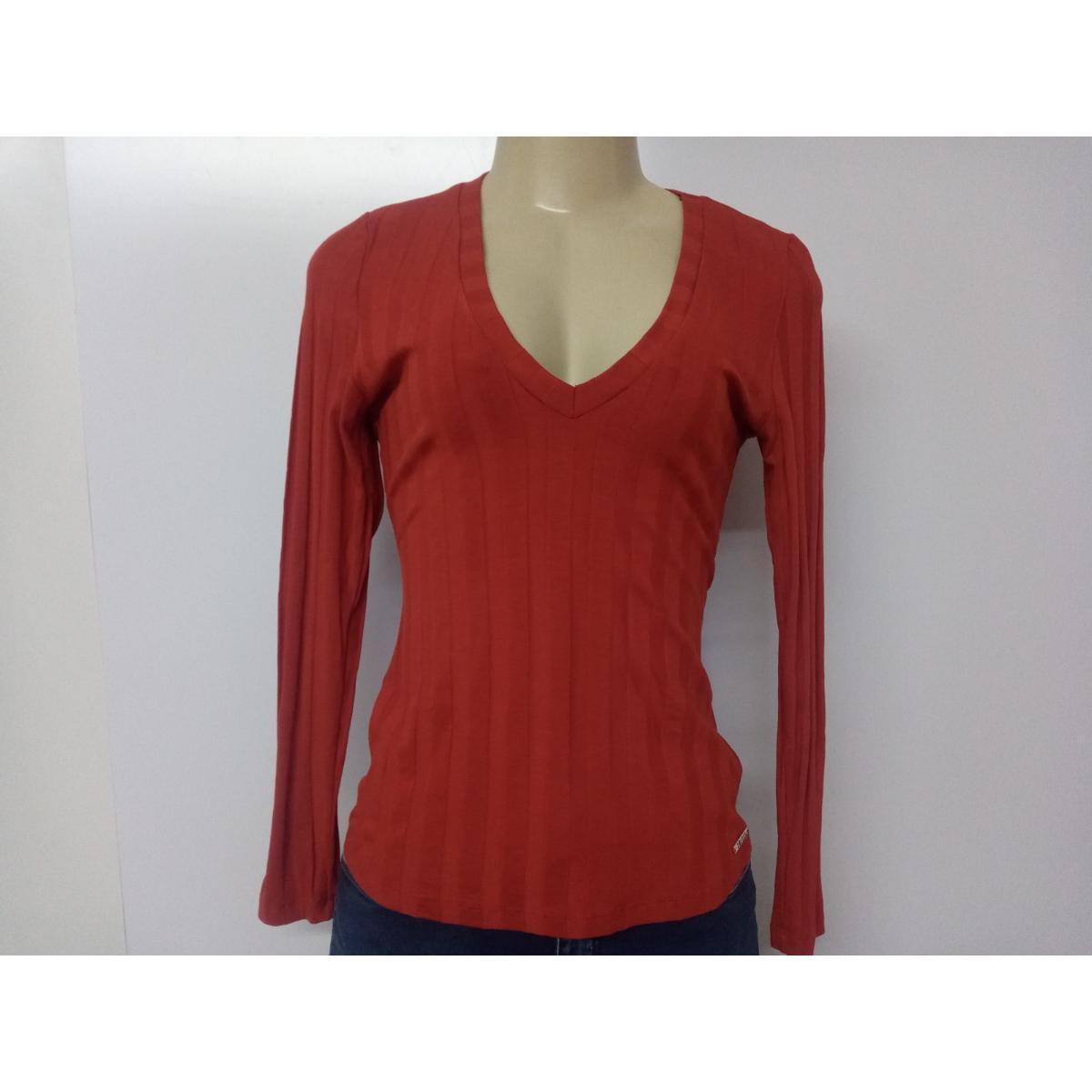 Blusa Feminina Colcci 360115373 48344 Vermelho