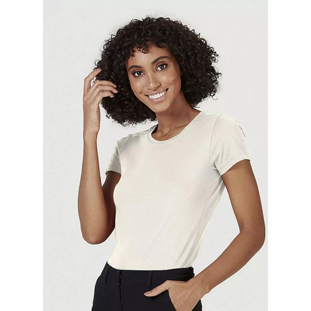 Blusa Feminina Hering 4ez9 Yumen Off White