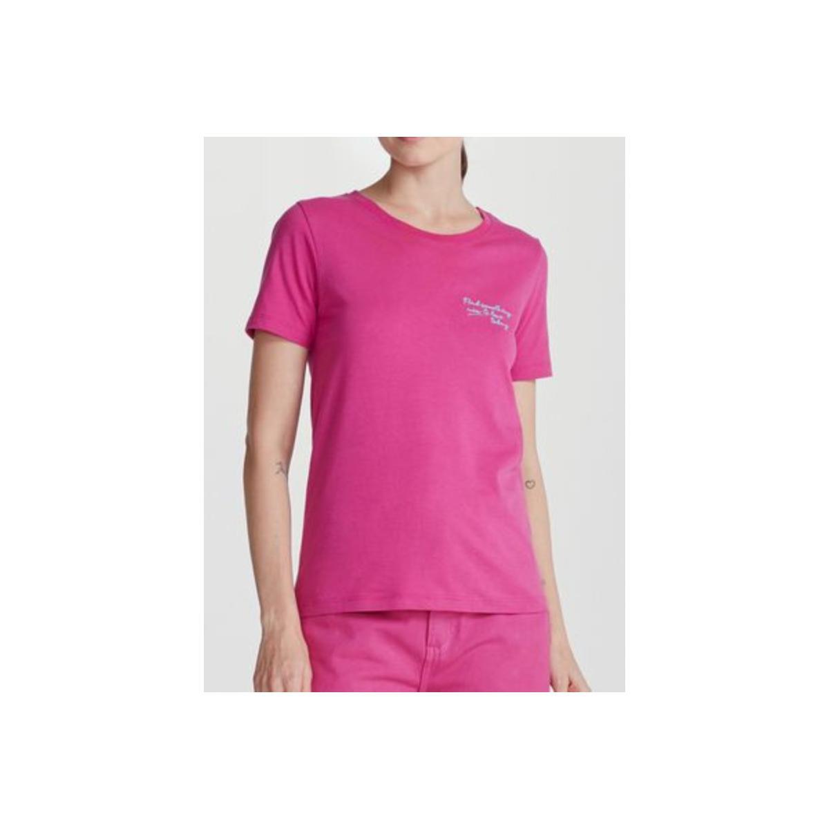 Blusa Feminina Hering 4fp7 K37en Pink