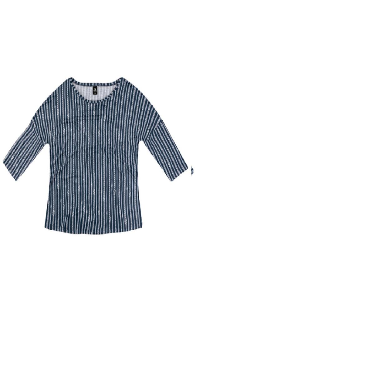 Blusa Feminina Hering 4e27 2ben Azul/branco