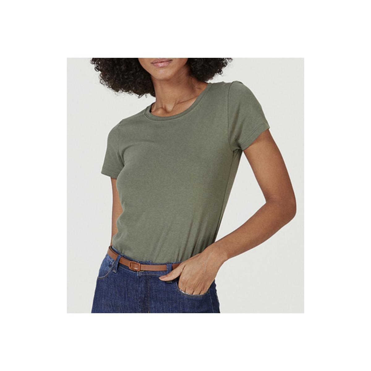 Blusa Feminina Hering 0241 Wh0en Militar