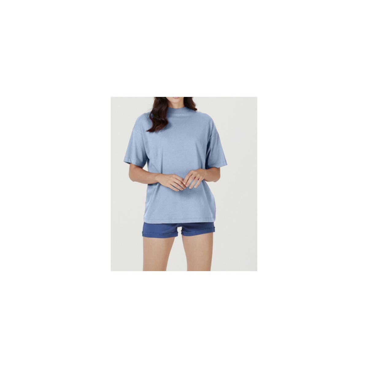 Blusa Feminina Hering 4ez7 Az8en Azul