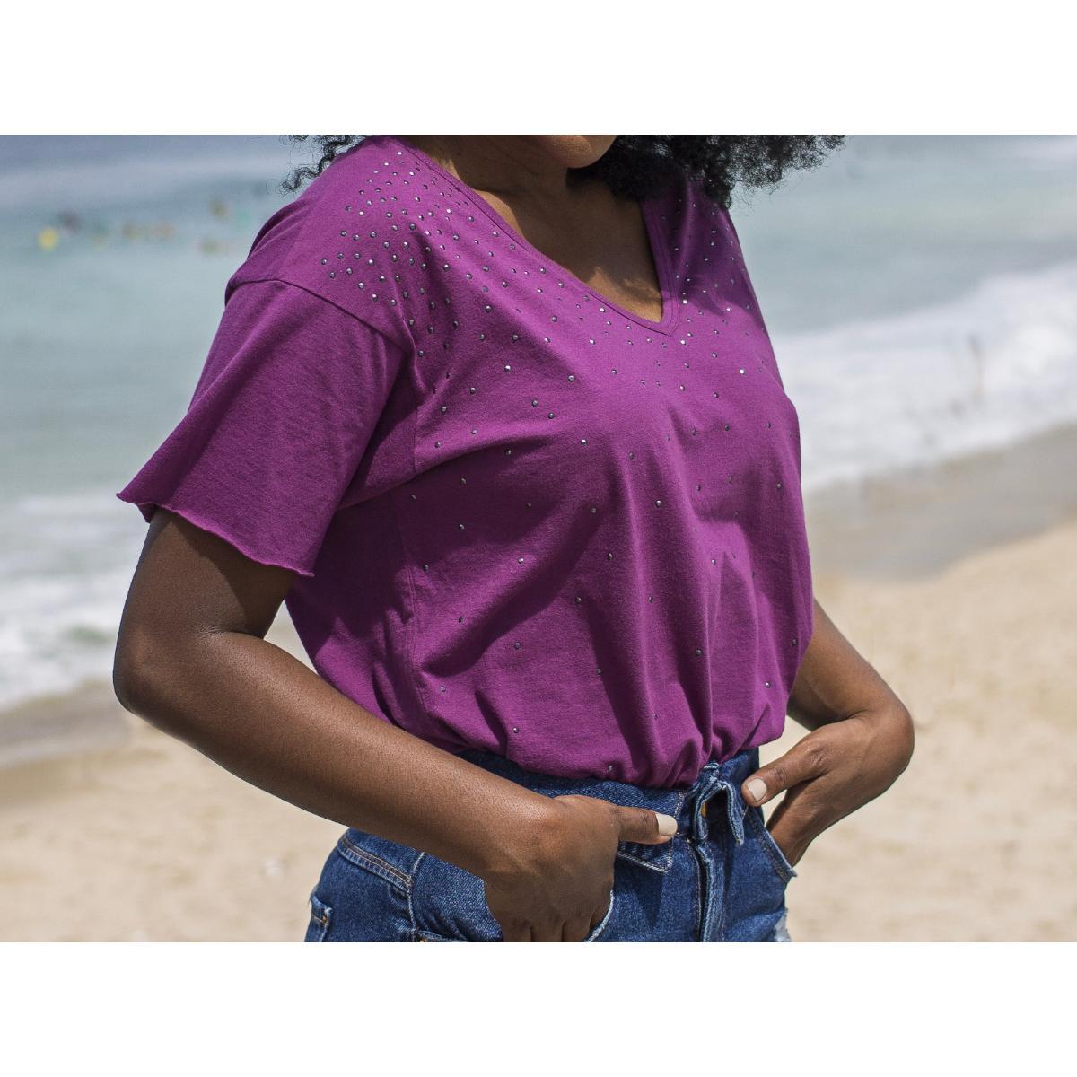 Blusa Feminina Index 05.06.000713 Beringela