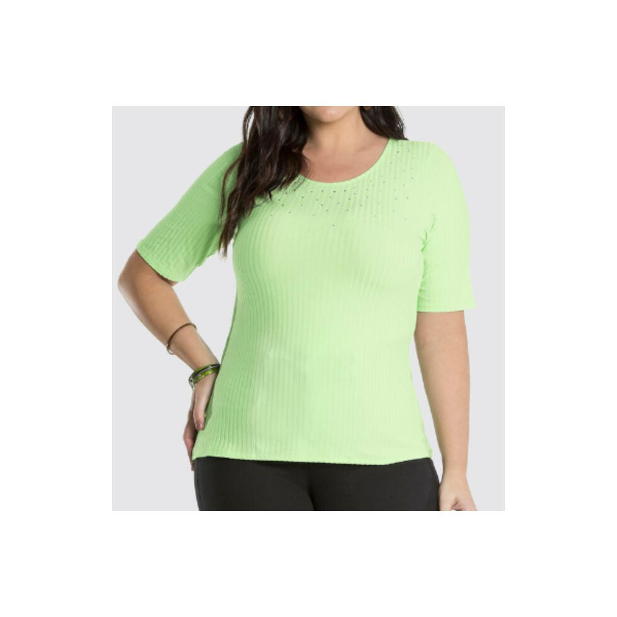 Blusa Feminina Lunender 47115 Verde